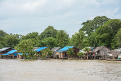 Ciężki wylew w Mandalay, Myanmar Zdjęcia Royalty Free