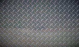 Ciężkiego metalu diamentu talerza grunge tekstury chromu przemysłowy tło zdjęcia royalty free