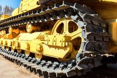 Ciężkiej budowy buldożer Zdjęcia Stock