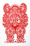 cięcie chiński papier Obrazy Royalty Free