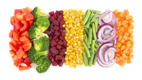 cięte warzywa obrazy stock