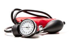 Ciśnienie krwi mankiecik, zakończenie Zdjęcie Stock