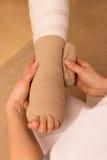 Ciśnieniowy bandaż zdjęcie royalty free