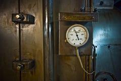 Ciśnieniowy wymiernik, pomiarowego instrumentu zakończenie up Zdjęcie Royalty Free