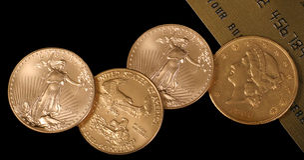 Ci è oro allora là è ORO Immagini Stock Libere da Diritti