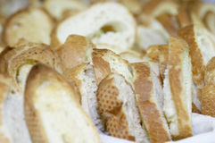 cięcie chleba Obraz Royalty Free