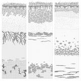 Cięcie glebowe kolumny (profil). Royalty Ilustracja