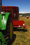 ciągnik rolniczy Obraz Royalty Free