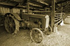 ciągnika Zdjęcie Stock