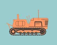 ciągnika rolniczego ilustracji