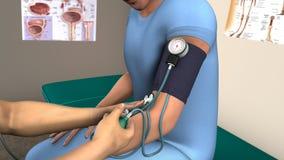 Ciśnienia Krwi checkup Obrazy Stock