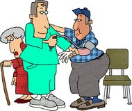 - ciśnienie krwi Zdjęcia Stock