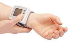 Ciśnienie krwi metr Fotografia Royalty Free