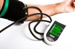 Ciśnienie Krwi monitor Obrazy Stock