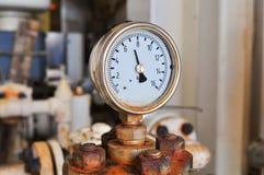 Ciśnieniowy wymiernik dla pomiarowego naciska w systemu Obraz Stock