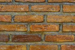 Ci?rrese para arriba de una ladrillo-pared, fondo de la textura Imagen de archivo libre de regalías