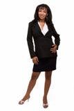 ciała biznes folująca kobieta obraz stock