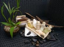 Ciało kąpielowego zdroju piękna wellness akcesoriów luksusowa dekoracja Zdjęcia Stock