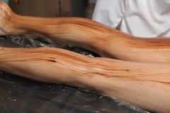 Ciało masaż Fotografia Stock