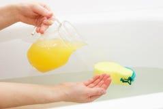 ciało opieki zdrowia spa nożna kobieta wody Zdjęcie Royalty Free