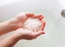 ciało opieki zdrowia spa nożna kobieta wody Fotografia Royalty Free