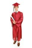 ciało pełne absolwent Fotografia Stock