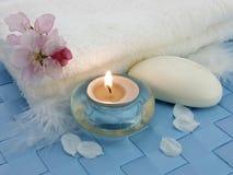 ciało relaksuje terapię Zdjęcia Royalty Free