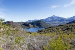 Ciało woda blisko De Rdzewiejący Południowa Afryka Fotografia Royalty Free