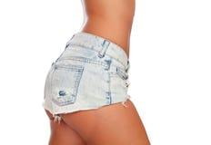 ciała cajgowa seksowna skrótów kobieta Zdjęcie Stock