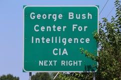 CIA-Hauptsitze Lizenzfreies Stockfoto