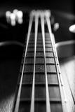 Ciało ablack basowa gitara Zdjęcia Royalty Free