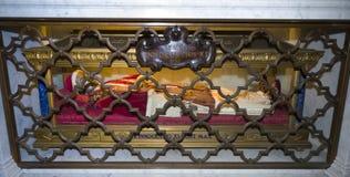 Ciało Innocent XI. w swój poprzedniej lokaci Obrazy Stock