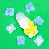 Ciała antiperspirant dezodorant na Fotografia Royalty Free