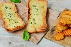 Ciabatta面包三明治 免版税库存图片