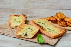Ciabatta面包三明治 库存照片