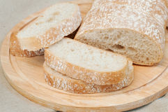Ciabatta面包 免版税库存图片