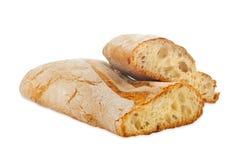 Ciabatta面包 免版税库存照片