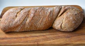 ciabatta печет хлебец стоковое фото rf
