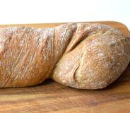 ciabatta печет хлебец стоковые изображения