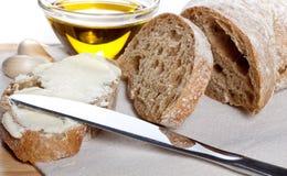 ciabatta хлеба свежее Стоковые Изображения