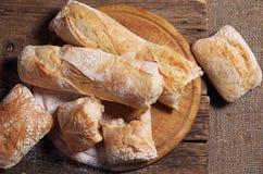 ciabatta хлеба свежее Стоковое Изображение