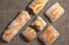 ciabatta хлеба свежее Стоковые Фотографии RF