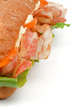 Ciabatta Bacon Sandwich Royalty Free Stock Image