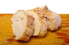 Ciabatta bread on board Royalty Free Stock Photography