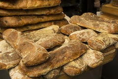 Ciabatta bread loaves Royalty Free Stock Photos
