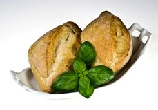 Ciabatta bread rolls Royalty Free Stock Photo
