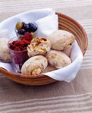 Ciabatta bread rolls Stock Photo