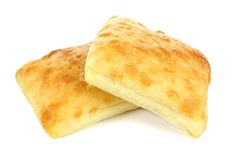 Ciabatta buns Stock Photography