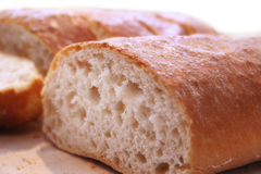 Ciabatta close up Stock Images