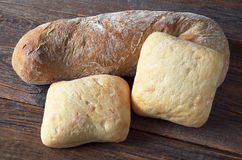 Ciabatta de miches de pain Photo libre de droits